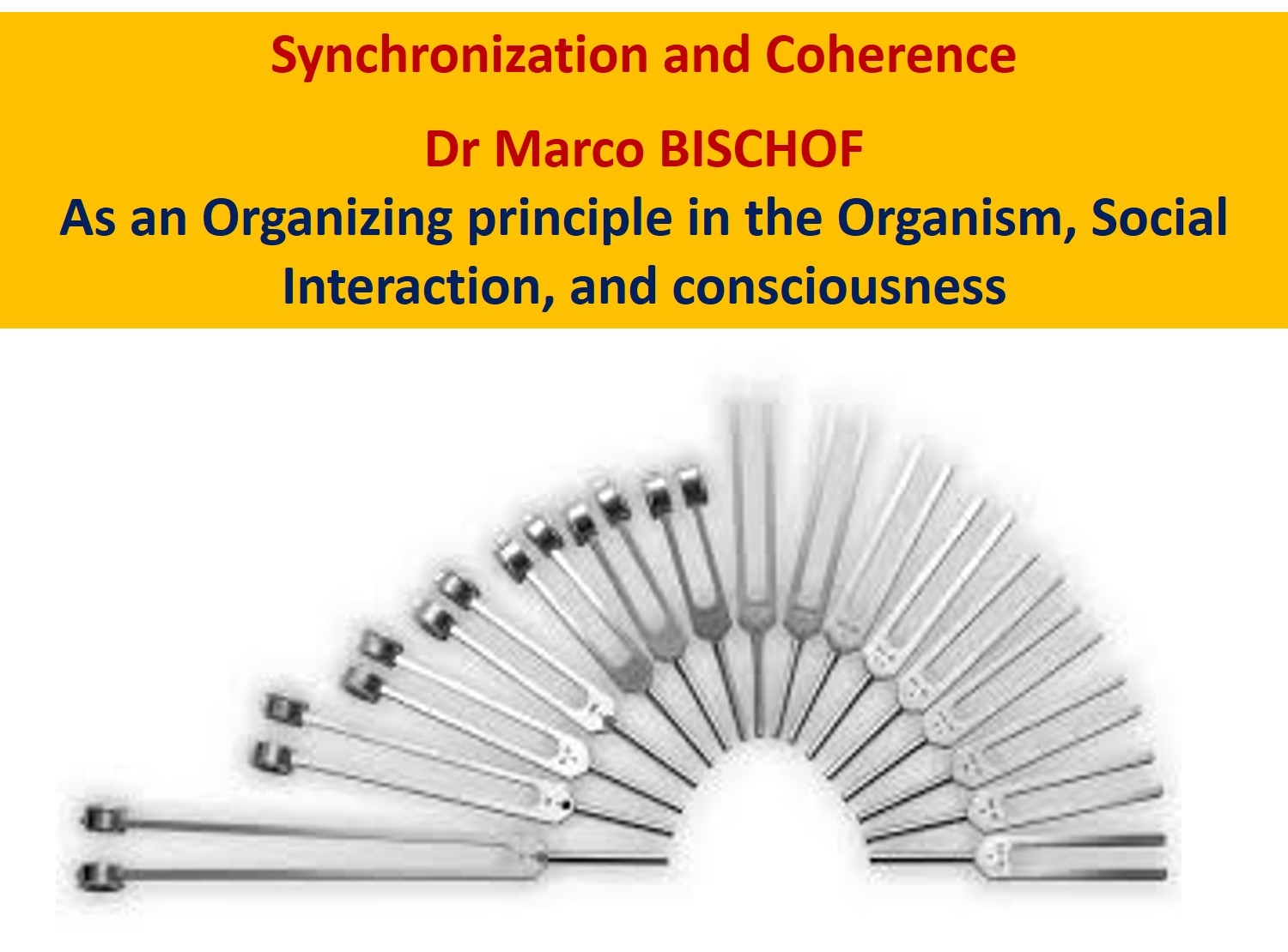 Dr BISCHOF Synchronization and Coherence