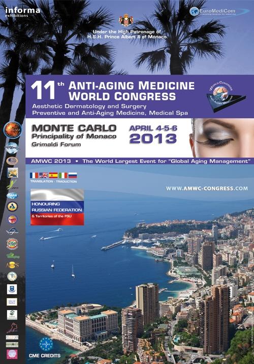 Congrès AMWC à Monaco de 4 au 6 Avril 2013