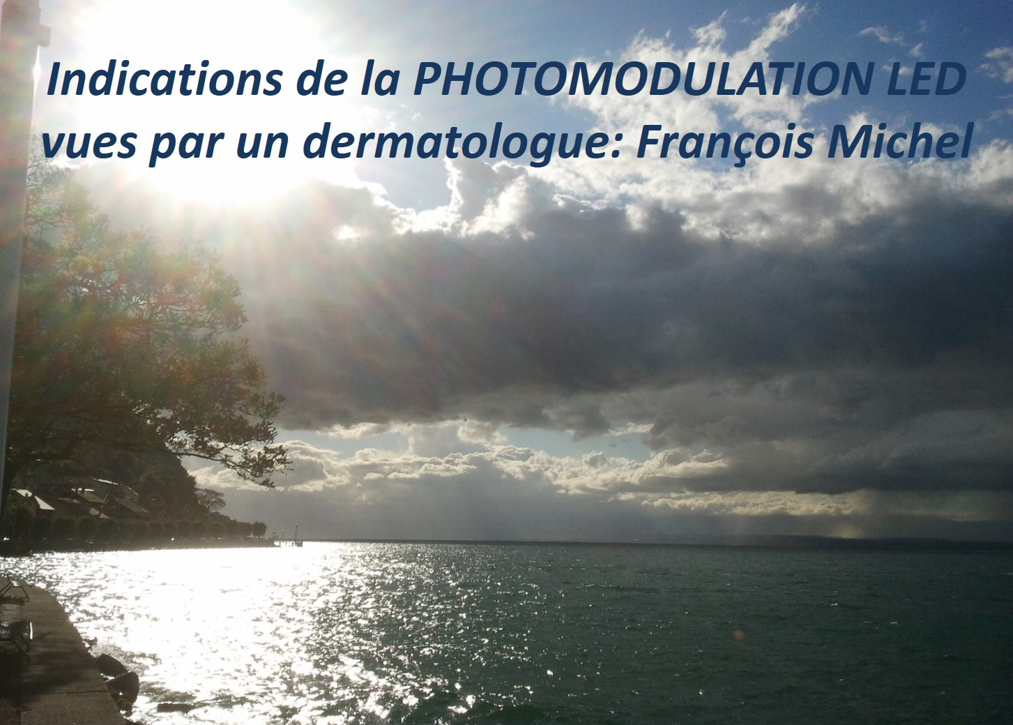 Indications de la photomodulation LED