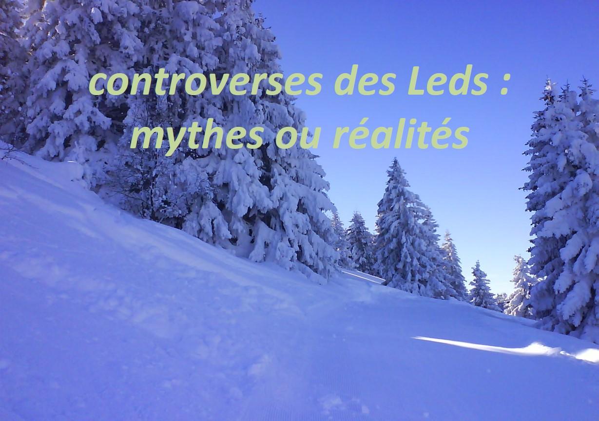 Controverses des Leds : Mythes ou Réalités (Dr Christine NOE, Cavaillon)