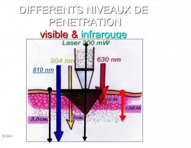 schéma 8: Différents niveaux de pénétration / Different levels of penetration
