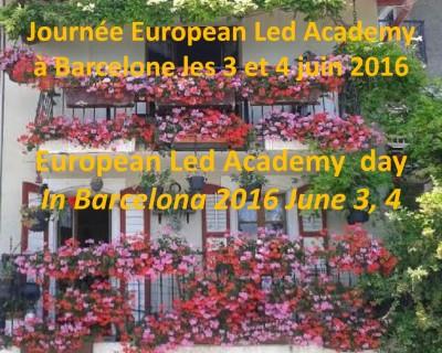 Journée ELA Barcelone 3 et 4 juin 2016