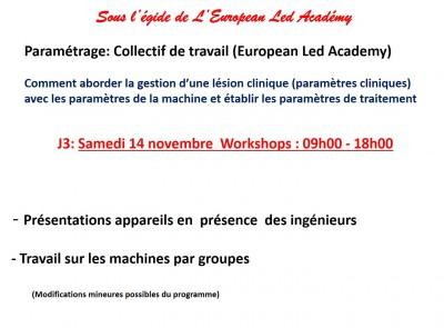 Certification Photobiomodulation / Bonnes Pratiques  -  12, 13, 14 novembre 2015 à NICE - Programme et inscription