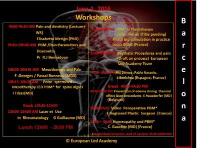 PRG Barcelone Workshops ang ELA