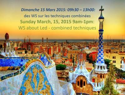 Barcelone  LED ACADEMY 15 mars 2015 WS